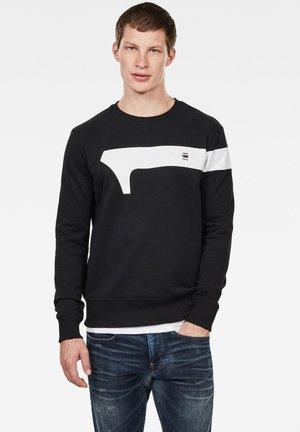 GRAPHIC LOGO - Sweatshirt - dark black