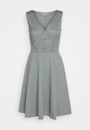 Cocktail dress / Party dress - slate grey