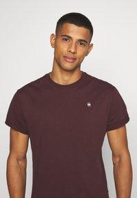 G-Star - LASH - T-shirt basic - dark fig - 3