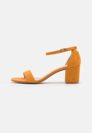 LEATHER - Sandals - orange