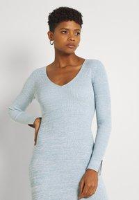 Forever New - KOURTNEY V NECK - Jumper dress - turquoise/blue - 3