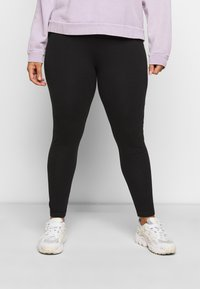 New Look Curves - 2 PACK - Leggings - Trousers - black - 1
