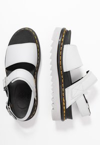 Dr. Martens - VOSS - Platform sandals - light grey hydro - 3