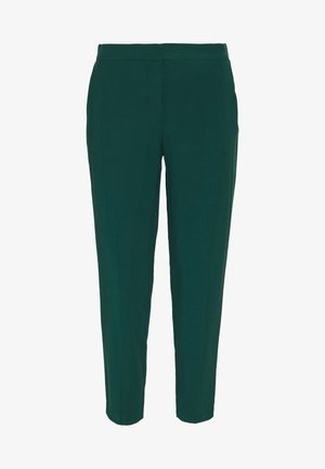 BASIC SLIM TROUSERS WITH WAIST - Pantalones - green