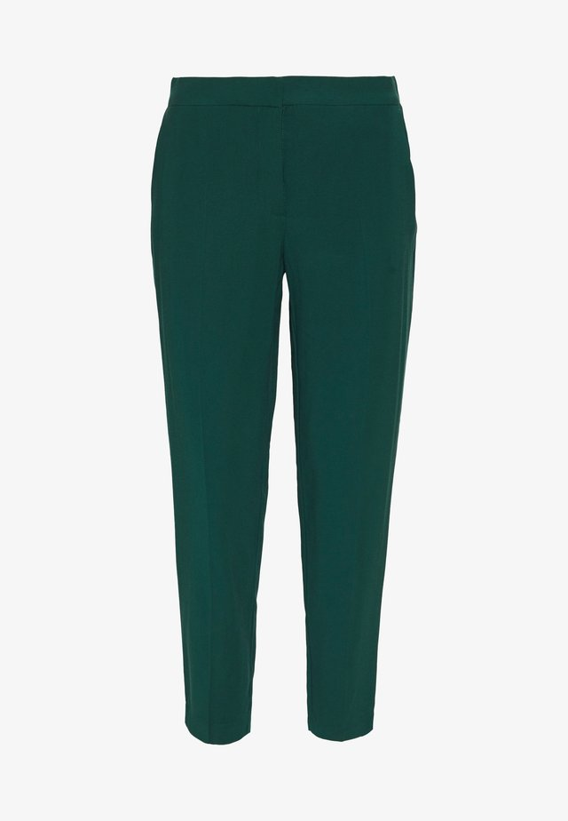 BASIC SLIM TROUSERS WITH WAIST - Kangashousut - green