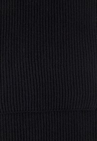 Johnstons of Elgin - RIBBED CASHMERE SCARF - Sjaal - black - 3