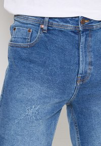 Denim Project - LIGHT DESTROY - Denim shorts - sicily blue - 3