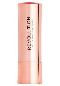 Make up Revolution - SATIN KISS LIPSTICK - Lipstick - cutie - 1