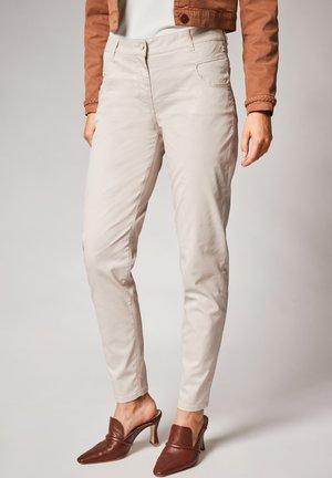 Trousers - cream
