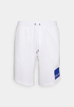 TECH - Spodnie treningowe - white