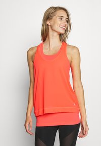 Sweaty Betty - DOUBLE TIME 2 IN 1 WORKOUT VEST - Top - fluro flash pink - 2