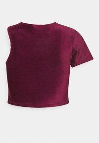 Ellesse - MARGIOT - Camiseta estampada - burgundy - 7