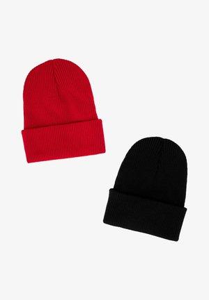 2 PACK - Beanie - red