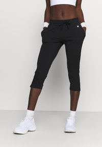 Champion - CAPRI PANTS - Urheilucaprit - black - 0
