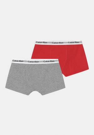 2 PACK - Pants - rapid red/grey heather
