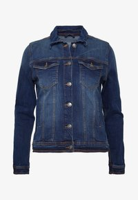 PULLY JACKET - Denim jacket - dark blue