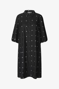 Day dress - black seeds
