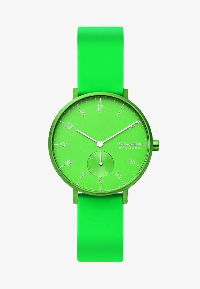 AAREN - Klokke - green