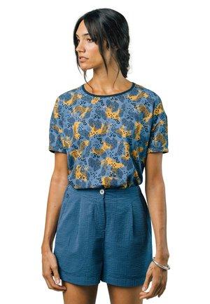 LEO - Print T-shirt - blue