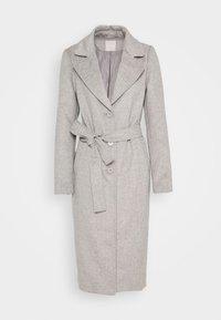 PCSISUN JACKET - Classic coat - light grey melange