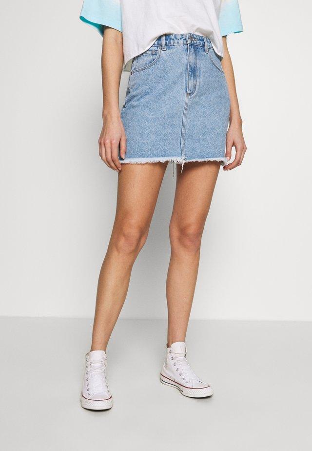 SKIRT - Spódnica jeansowa - esmeralda