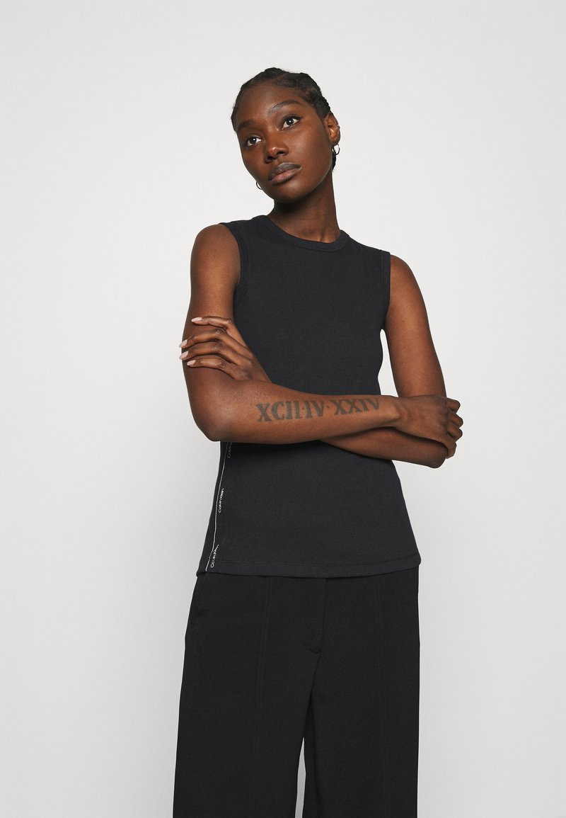 Calvin Klein - VEST - Top - black