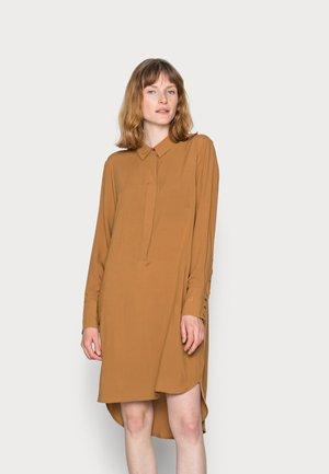 RADIA - Shirt dress - caramel