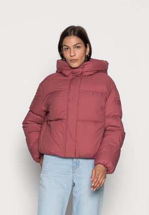 PUFFER JACKET - Down jacket - misty red