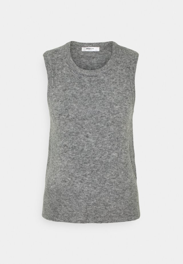 ZENIE VEST - Svetr - mottled grey