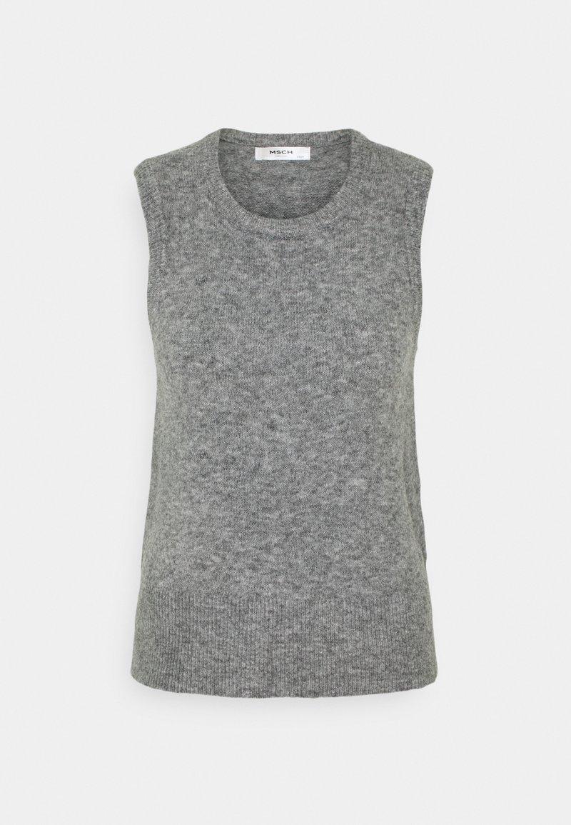 Moss Copenhagen - ZENIE  - Top - mottled grey