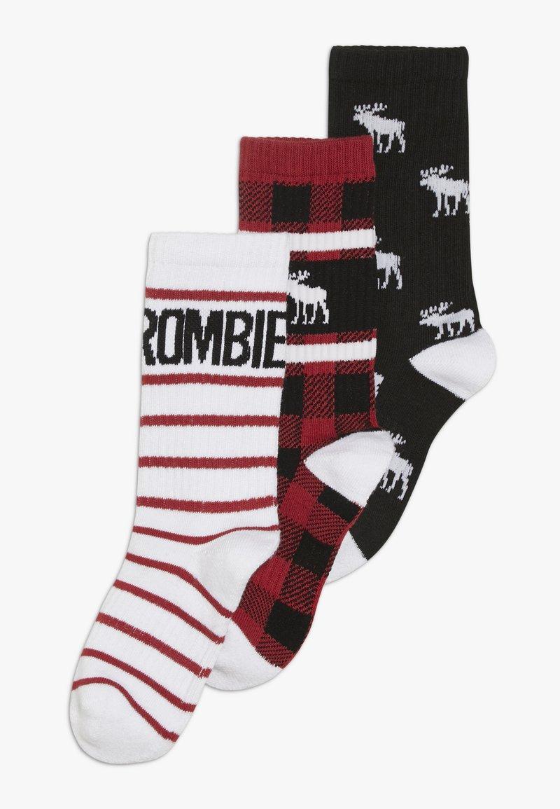 Abercrombie & Fitch - XMAS  3 PACK - Ponožky - multicoloured