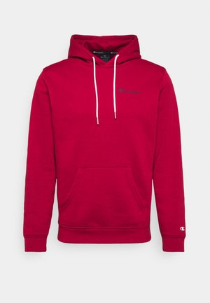 LEGACY HOODED - Bluza z kapturem - dark red