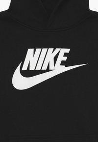 Nike Sportswear - CLUB - Bluza z kapturem - black/white - 3