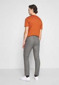 Calvin Klein Tailored - CHECK STRETCH PANTS - Trousers - grey - 2