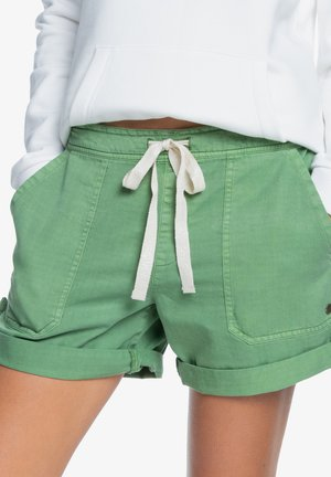 LIFE IS SWEETER - Shorts - vineyard green