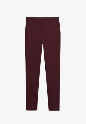 COLA - Pantaloni - maroon