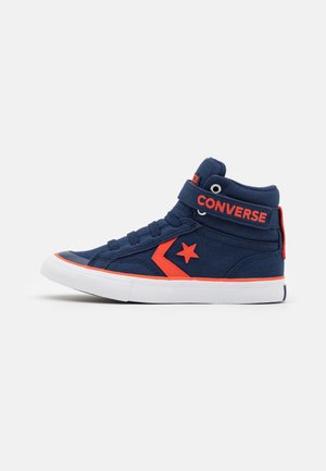 PRO BLAZE STRAP SUMMER COLOR UNISEX - High-top trainers - midnight navy/bright poppy/white