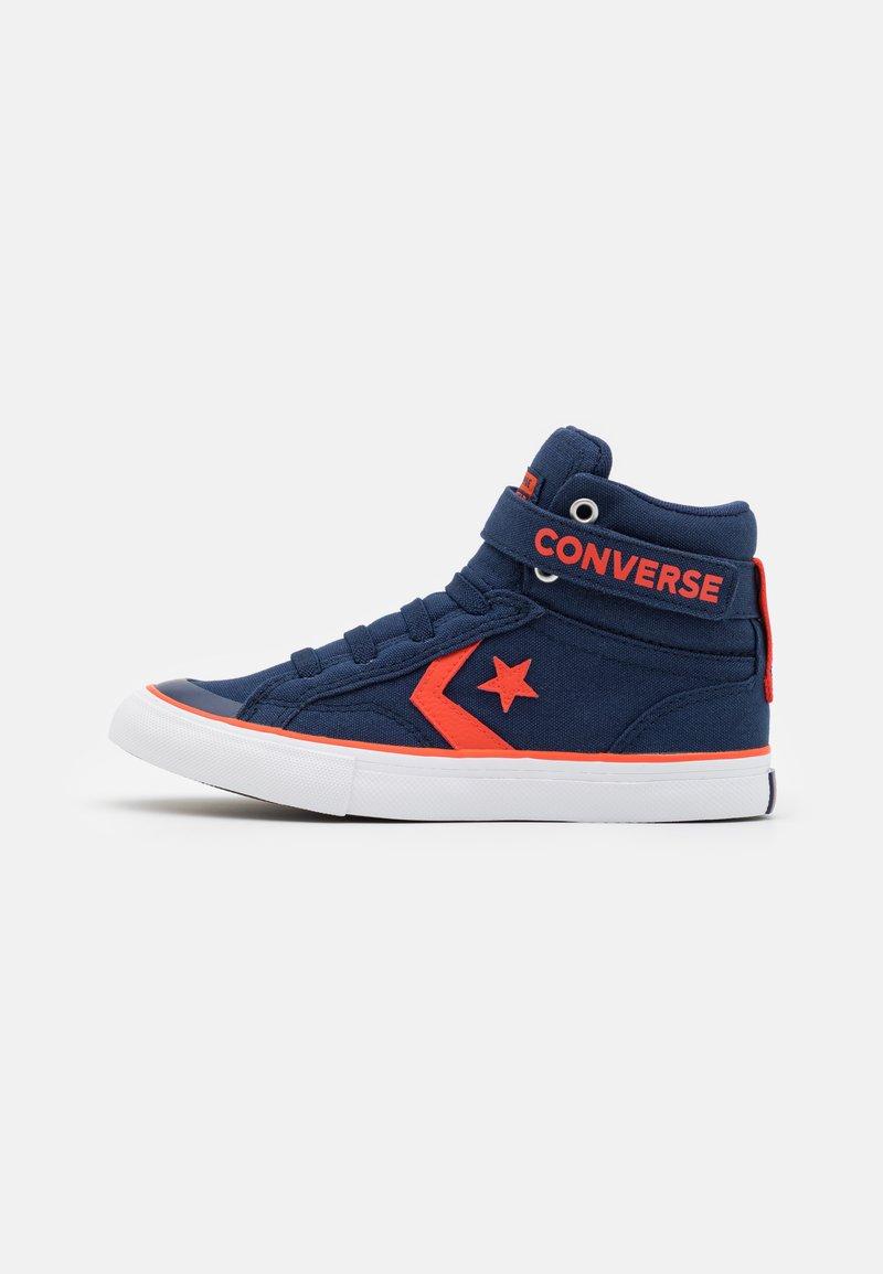 Converse - PRO BLAZE STRAP SUMMER COLOR UNISEX - Sneakers high - midnight navy/bright poppy/white