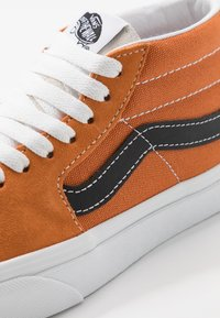 Vans - SK8 MID UNISEX - High-top trainers - apricot buff/true white - 6
