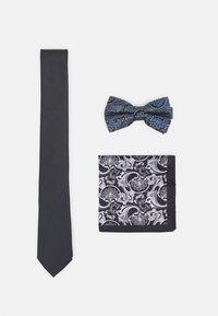 Burton Menswear London - SET - Tie - dark grey - 0