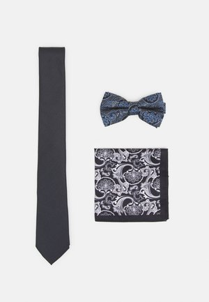SET - Tie - dark grey