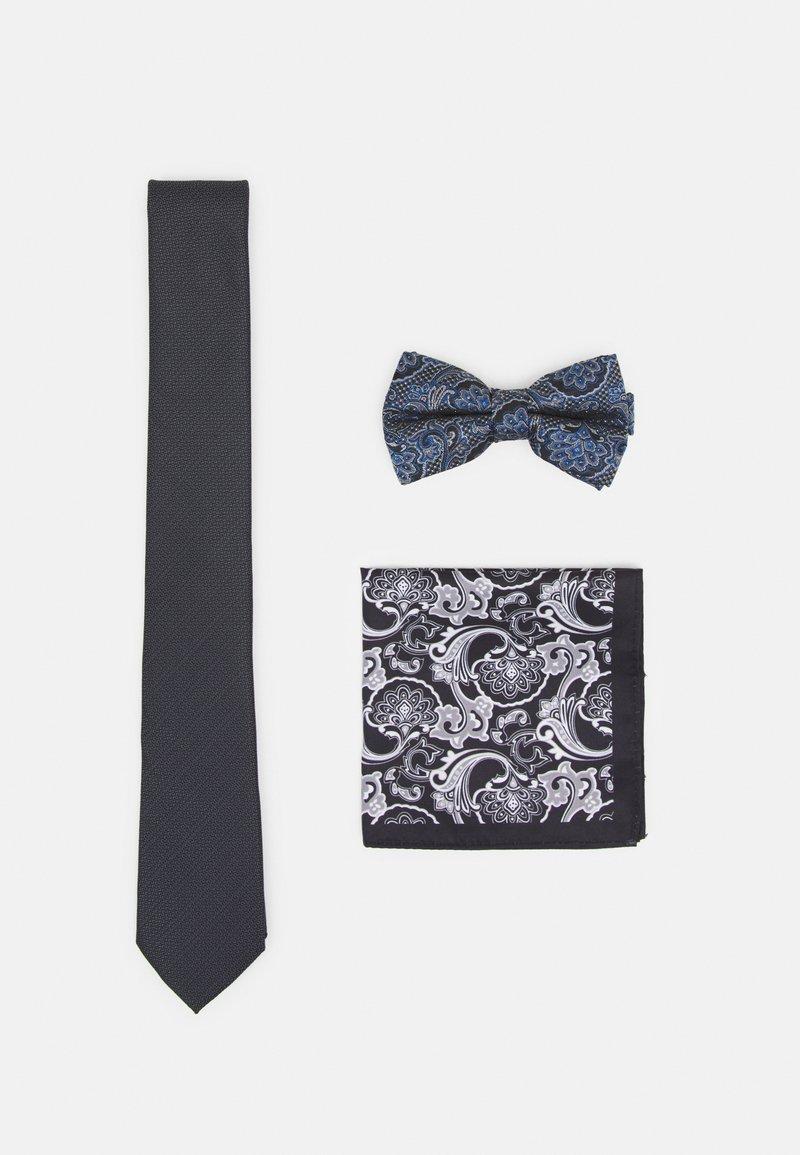 Burton Menswear London - SET - Tie - dark grey