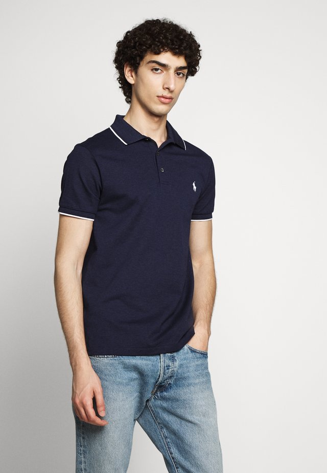 STRETCH - Polo shirt - spring navy