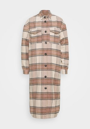 ONLLOLLY LONG CHECK COAT  - Classic coat - multi coloured