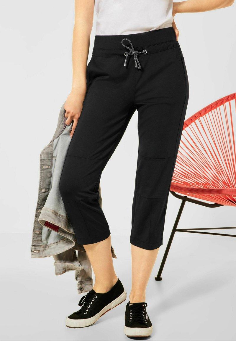 Street One - Trousers - schwarz