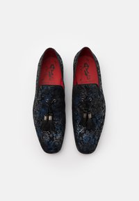 Jeffery West - JUNG TASSEL - Scarpe senza lacci - botanic sea - 3
