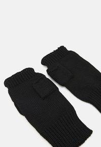 Even&Odd - Fingerless gloves - black - 1