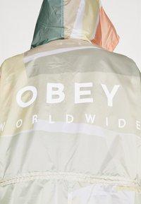 Obey Clothing - SLICE JACKET - Summer jacket - peach multi - 7