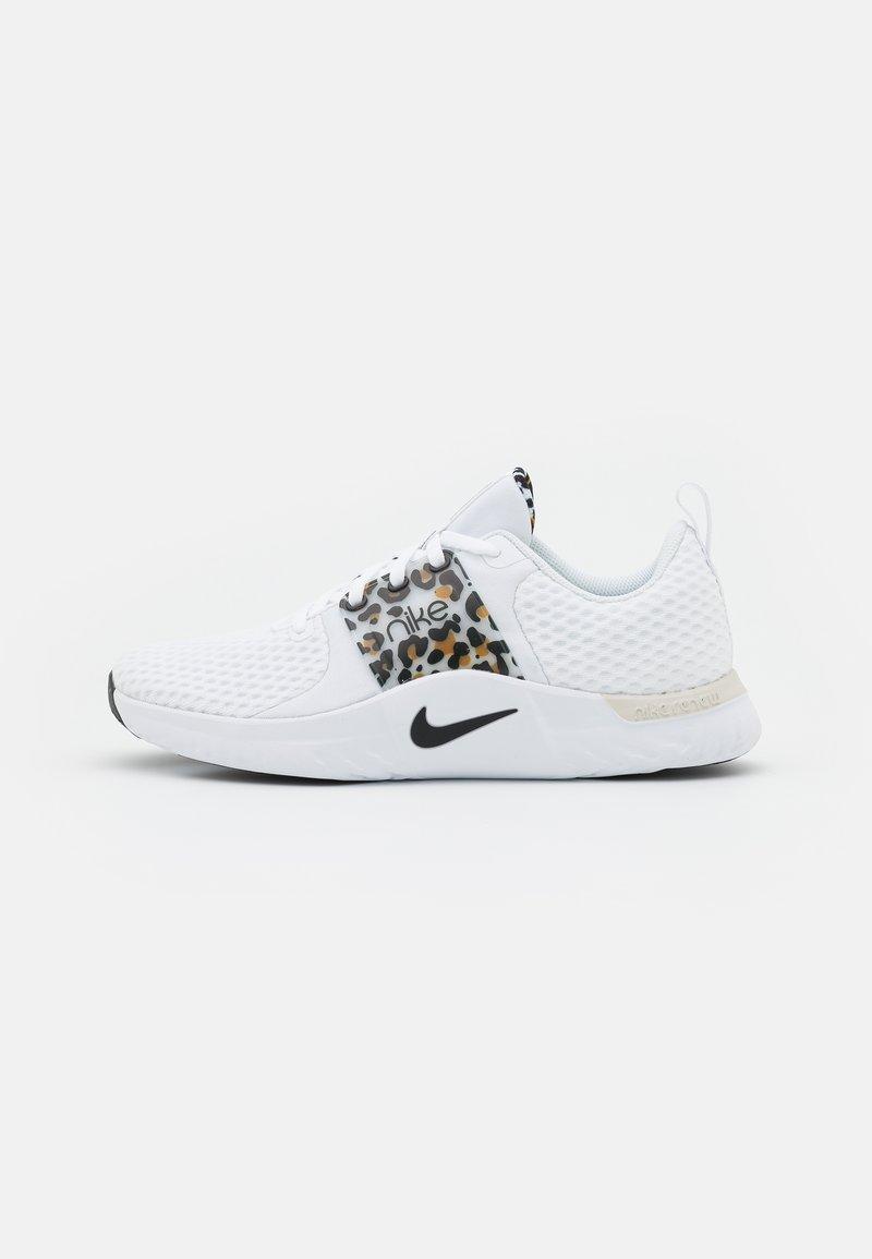 Nike Performance - RENEW IN SEASON TR 10 PRM - Zapatillas de entrenamiento - white/black/light bone/wheat