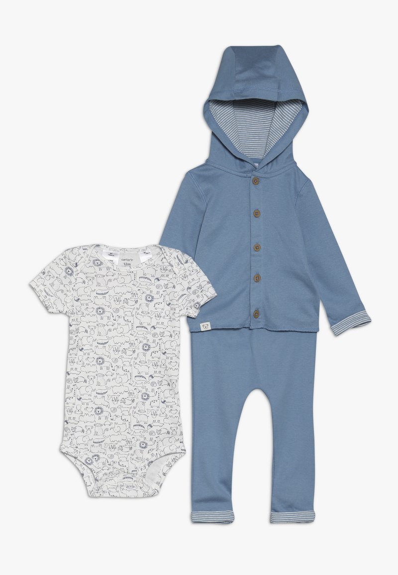 Carter's - CARDI BABY SET - Body - blue
